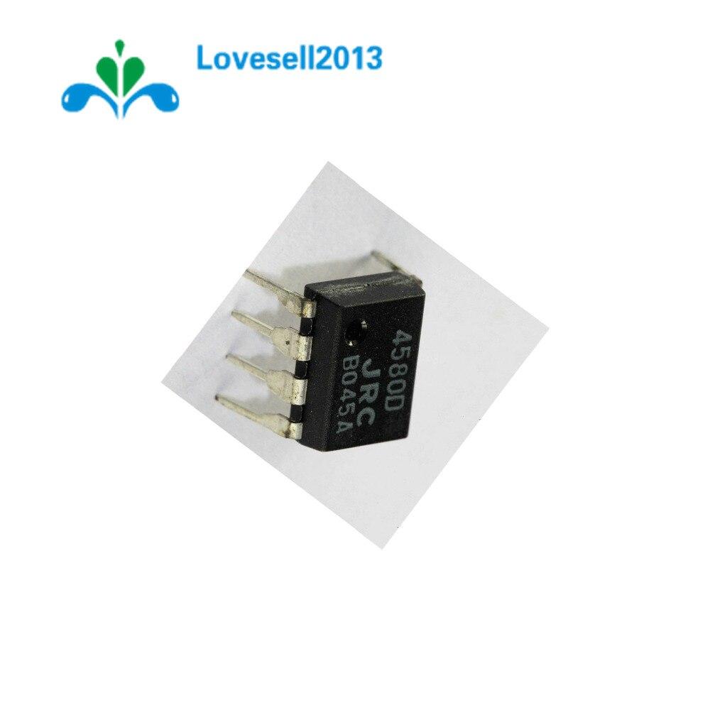 10 PCS IC JRC DIP-8 JRC4580D Operational Amplifiers NEW