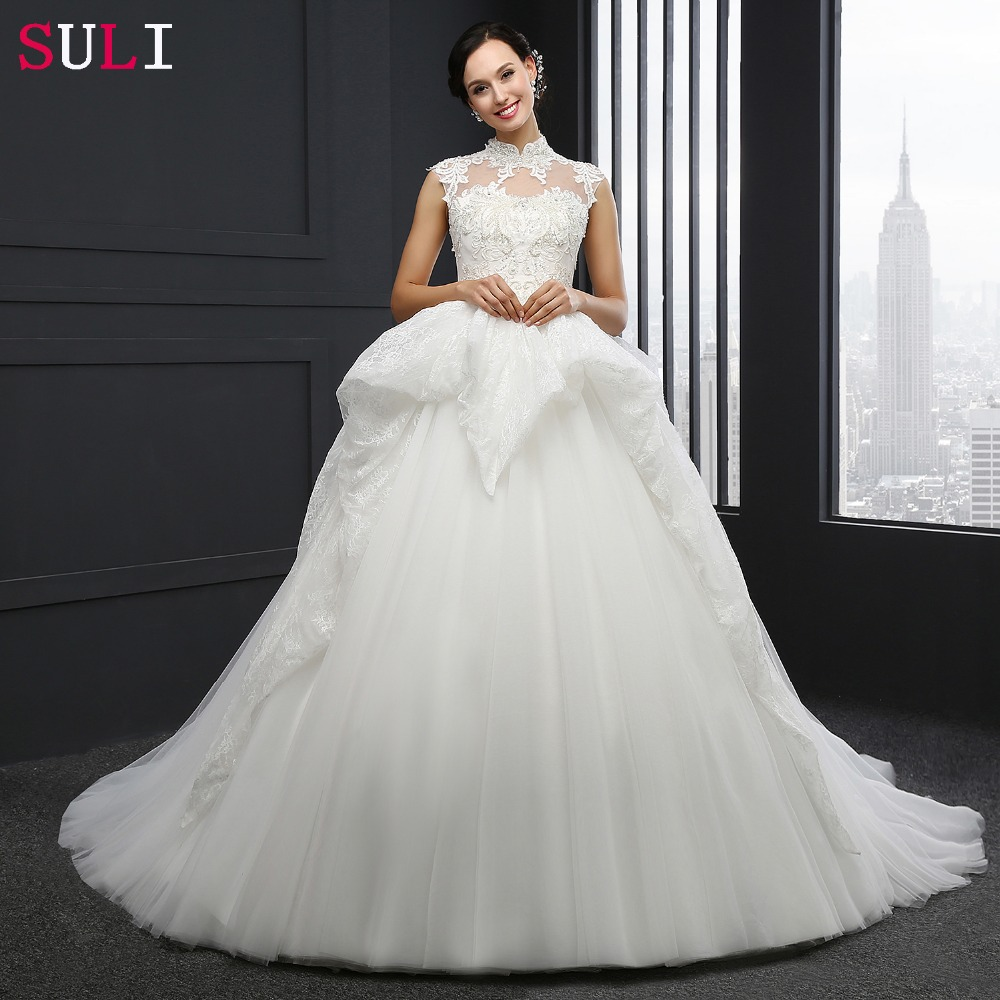 sl 040 best selling princess wedding dress applique crystal ivory bride dresses two layer tulle