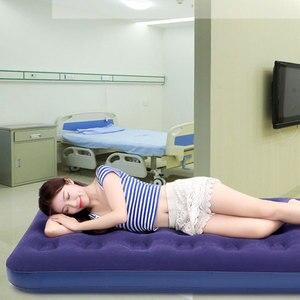 Image 5 - أريكة هوائية قابلة للنفخ سرير قابلة للطي أثاث خارجي حديقة أريكة سرير غرفة المحمولة لينة متعددة الوظائف فراش سرير قابل للطي 5 أحجام