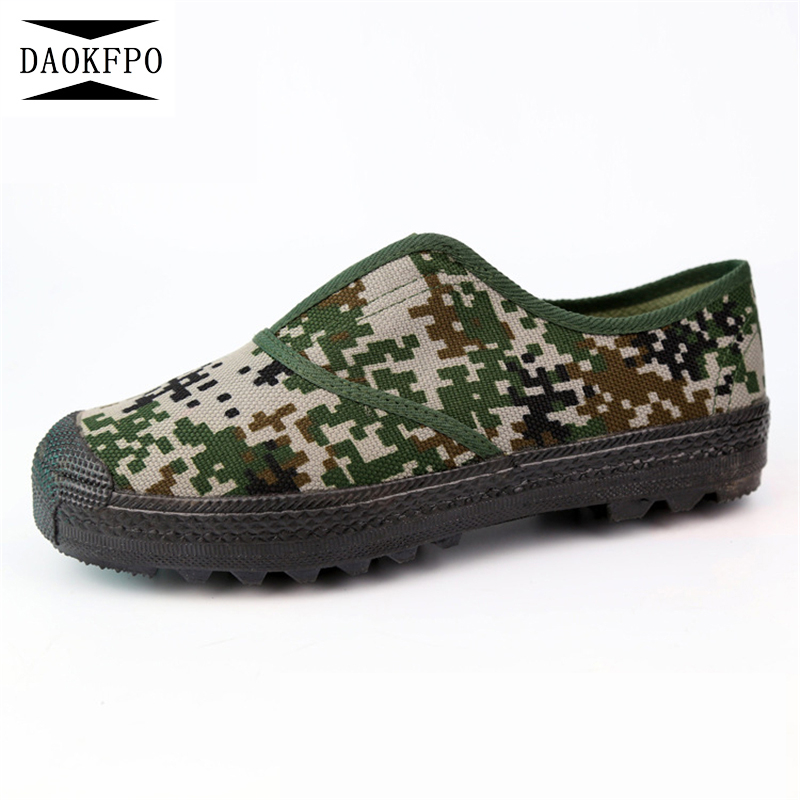 DAOKFPO Women Sneakers 2018 Spring Autumn New Brand Fashion old Beijing Camouflage cloth shoes Women Shoes Comfort Shoes NVF-09
