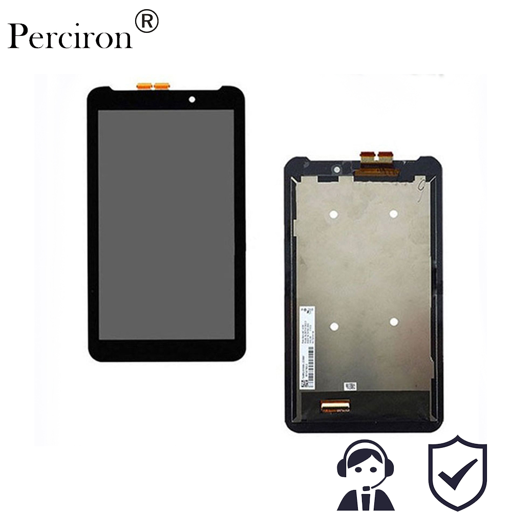 New 7'' inch LCD Screen Display + Digitizer Touch Assembly For Asus Memo Pad 7 ME170 K012 ME70CX 5581L Free Shipping used parts lcd display monitor touch screen panel digitizer assembly frame for asus memo pad smart me301 me301t k001 tf301t