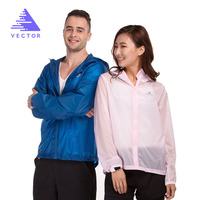 VECTOR Brand Lovers Waterproof Jacket Mne Women Spring Summer Sun UV Protection Outdoor Coat Sport Running