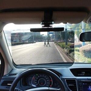 Image 1 - 新しいカーアクセサリー車のフロントガラスサンシェードゴーグル自動格納式サイド日焼け止め日陰車太陽バイザーメガネ