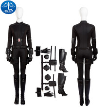 MANLUYUNXIAO Cosplay Costume The Avengers Black Widow Natasha Romanoff Cosplay Costume For Women Free Shipping Custom Made