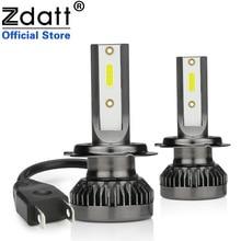 Zdatt H7 LED Car Light Headlight Mini Bulbs H1 H8 H9 H11 9005 HB3 9006 8000LM 60W 12V Auto Lamps Motorcycle Automobiles