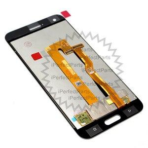 Image 3 - أسود/أبيض 5.0 بوصة استبدال إصلاح أجزاء ل HTC واحد A9S شاشة الكريستال السائل مجموعة المحولات الرقمية لشاشة تعمل بلمس ل HTC A9S LCD + أداة