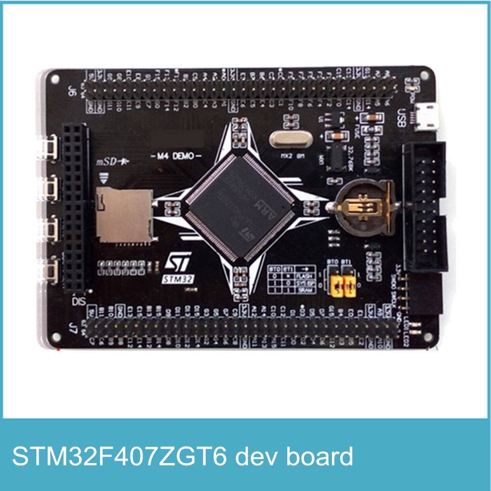 US $11 15 18% OFF High Quality STM32F407ZGT6 Development Board ARM M4  STM32F4 Board Compatibility Multiple Extension-in Integrated Circuits from