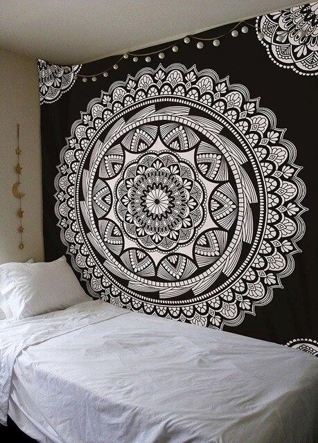 Yoga Mandala Lotus Tapestry 4