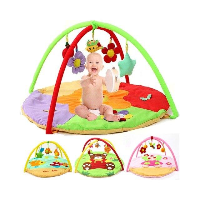 Cartoon Baby Soft Play Mat Kids Rug Develop Crawling Boy Girl Carpet Game Mat For Children Educational Rack Toys