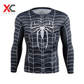 Marvel Super Heroes Avenger T shirt Men Compression Armour Base Layer Long Sleeve Thermal Under Top 3D Printed T-Shirts