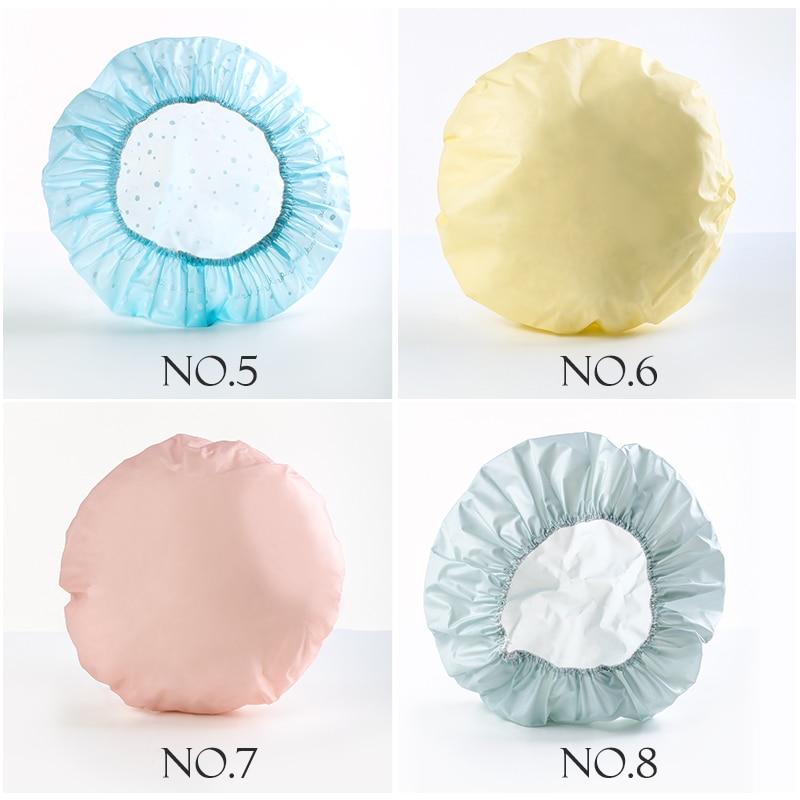 Durable Dicke Haar Kappe Frauen Haar Pflege Abdeckung Erwachsene Haar Styling Kappe Wasserdicht Dusche Kappe Haar Farbe Hut 1 stück küche Kappe