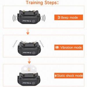 Image 5 - Petrainer Dog Training Kraag Elektrische Schok Huisdier Kraag Anti Bark Halsbanden Opvoeder Tracker 330 Yards Remote voor alle Size Hond