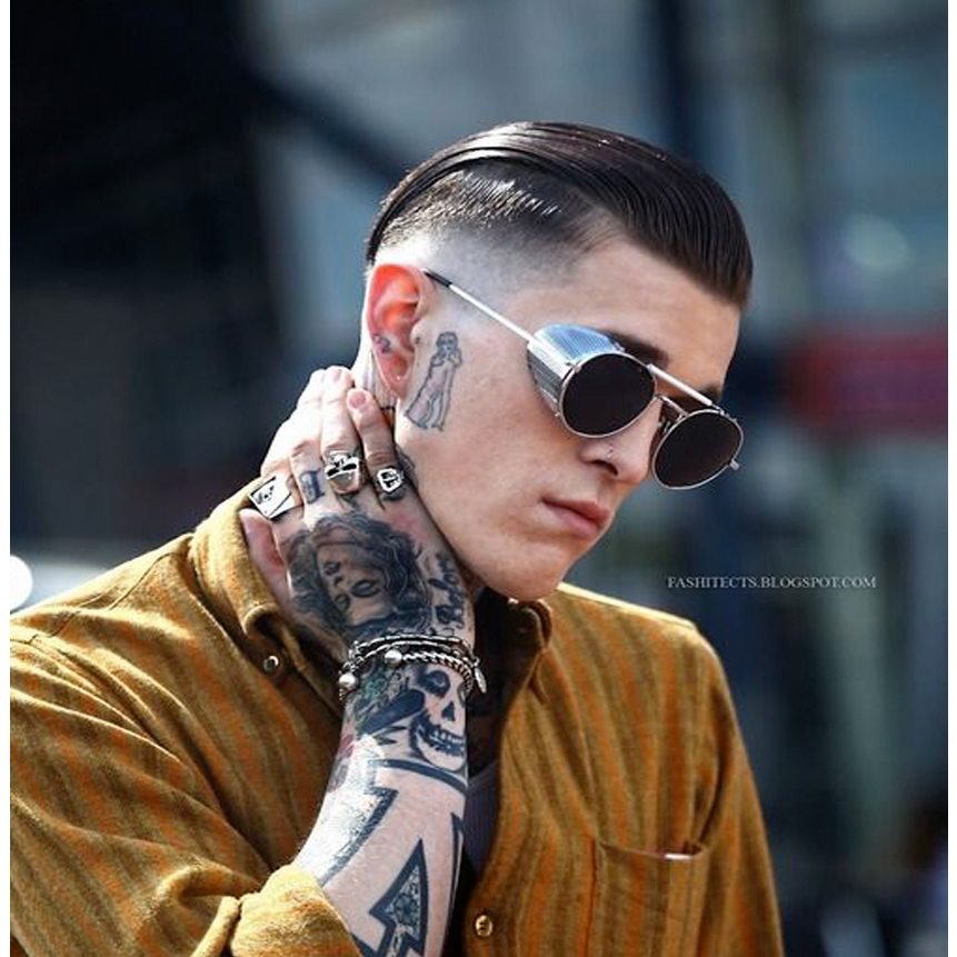 Adewu Hight Quality Metal Frame Steampunk Sunglasses Men Brand Designer Goggle Men Women ...
