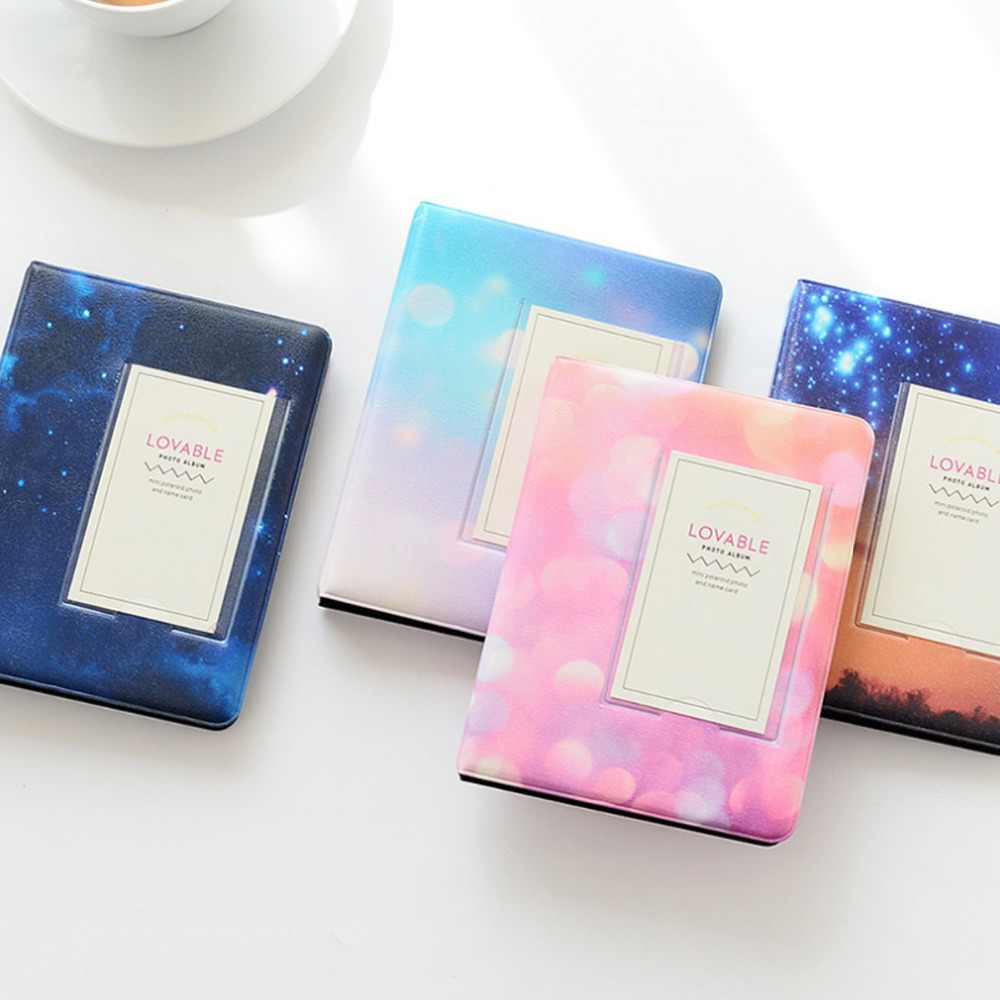 32 Pockets Mini Album Colorful Starry Series For Fuji Instax Wide Photo Album For 5 Inch / Wide 300 210 Film