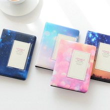 32 Pockets Mini Album Colorful Starry Series For Fuji Instax Wide Photo Album For 5 Inch / Wide 300 210 Film цена и фото