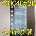 Бесплатная доставка 10 шт./лот 74HC4052 74HC4052D Dual 4-в-1 аналоговый переключатель SOP16 SMD новый оригинальный