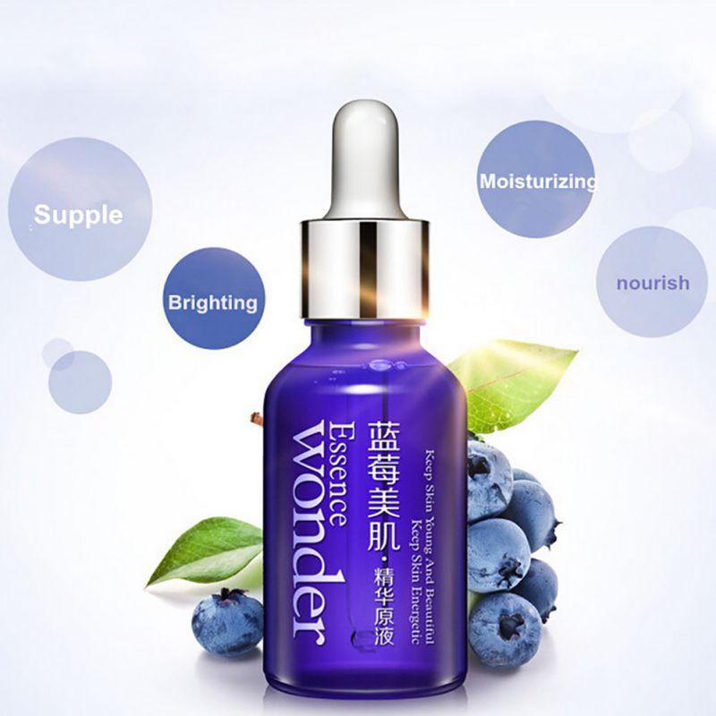 Skin Care Whitening Moisturizing Wonder Natural Blueberry Essence Hyaluronic Acid Liquid Anti Wrinkle Anti Aging Energetic Serum