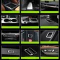 Auto inoxidable decoración conversión interior car styling lentejuelas outlet soporte resto pedal modificado De Vidrio Para El Nuevo 2016 Audi Q7
