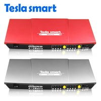 Free Shipping High Quality 4x2 HDMI Matrix Switch With SPDIF Coaxial Output 4 Input 2 Output