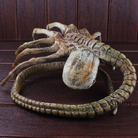 Alien VS Predator Alien Facehugger Figure Poseable Replica Alien Vs Predator Toy Action Figure Halloween Decoration Doll 120cm