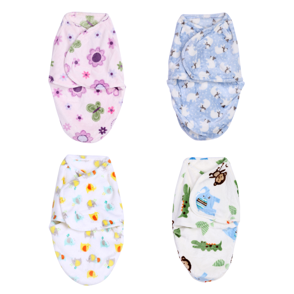 Newborn Sleeping Bag Baby Blanket Soft Polar Fleece Swaddle Wrap Bedding Crib Blankets Quilt Baby Kids Bathing Towel 32X50cm breathable bubble thick cartoon kids summer baby quilt blankets soft cotton cloud wings children room blanket bedding 90x130cm