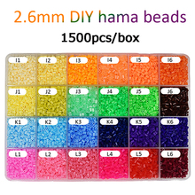 1500pcs/bag 2.6mm Hama Beads 72Colors For Choose Kid Education Diy Tos 100% Quality Guarantee New Perler Bead Wholesale DOLLRYGA цена и фото