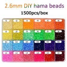 1500pcs/bag 2.6mm Hama Beads 72Colors For Choose Kid Education Diy Tos 100% Quality Guarantee New Perler Bead Wholesale DOLLRYGA