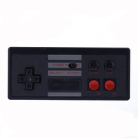 2 4Ghz Wireless Controller Gamepad Battery For NES Classic Edition Console For Wii U Game Play