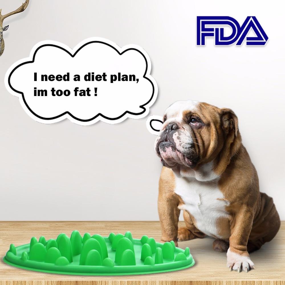 1Pcs Dog Slow Feeder Food Bowl s