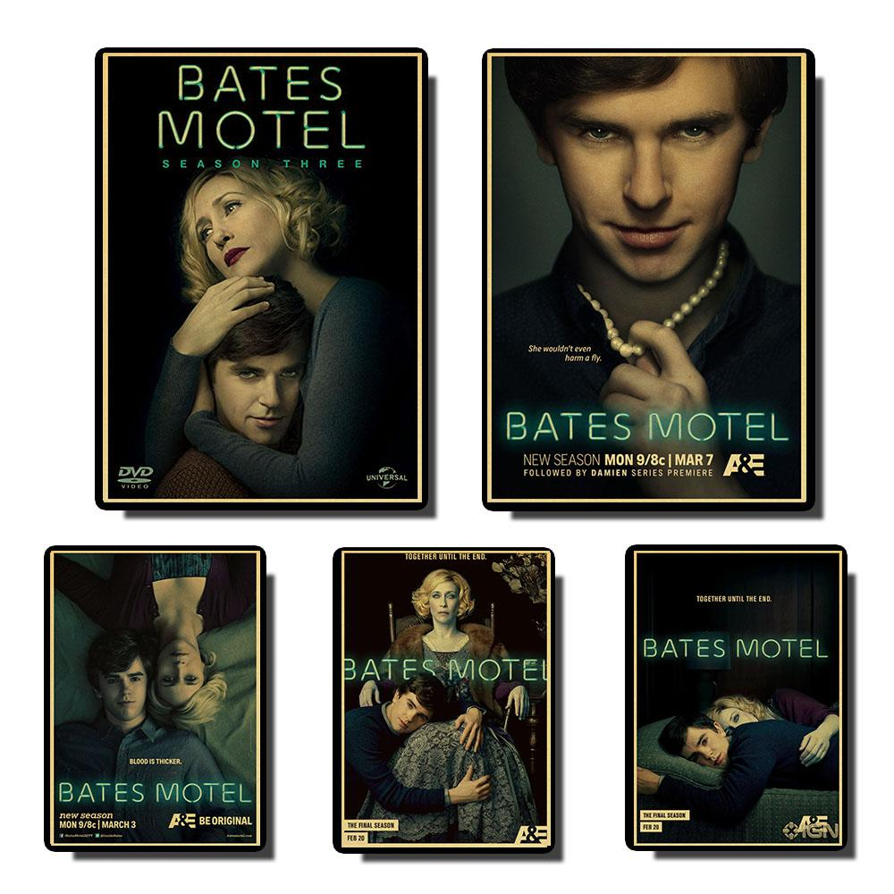 Bates Motel Vintage Posters Prints Wall Painting High Quality Decor Poster Wall Painting Home Decoration