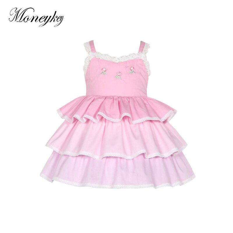 1579f492a647 2018 Summer Dresses Kids Party For Girl Dress Children Girls Clothes ...