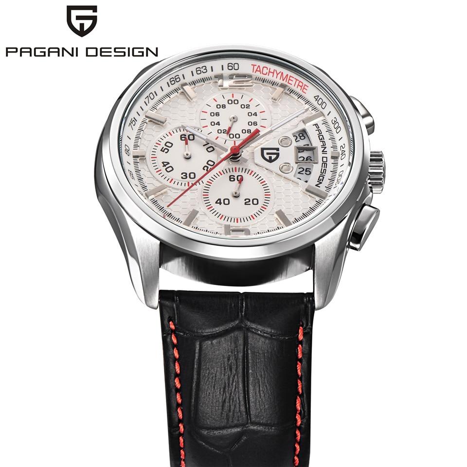 a58590783c1 Pagani design 새로운 남성 크로노 그래프 시계 남성 럭셔리 브랜드 석영 스포츠 시계 다이빙 30 메터 캐주얼 시계  relogio masculino