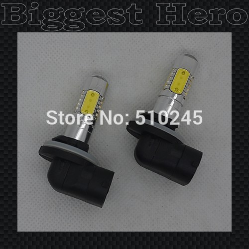 10X DC12V LED H27 881 11W LED CAR 881 high power FOG LAMP with clean lens auto bulbs