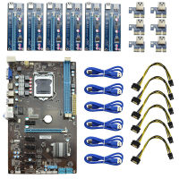 Pro 6 GPU Charger Dual Channel Mining Motherboard With 6 PCI Express Slots BT USB 3