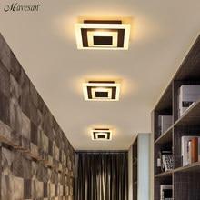 Современный потолочный светильник s 12 Вт для прихожей, балкона, коридора, Coffe, белый светильник, лампы для спальни, luminaria teto acrylic lamparas de techo