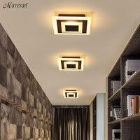 Modern ceiling lights 7w for hallway balcony corridor light lamps bedroom luminaria teto acrylic lamparas de techo