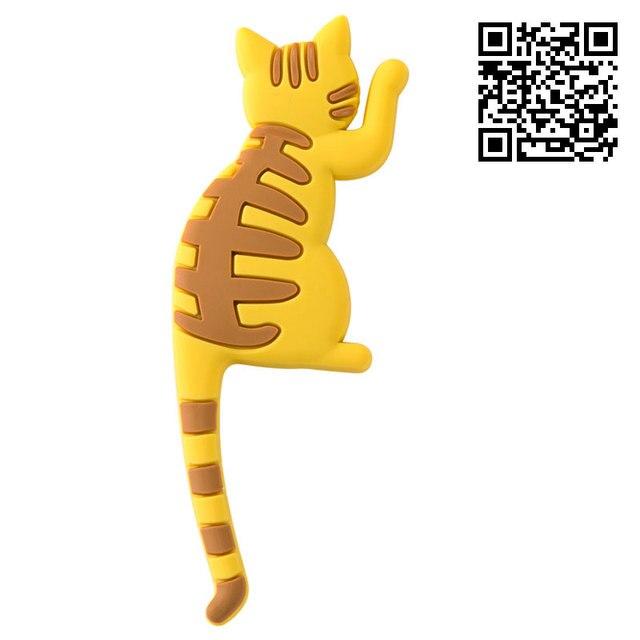 vanzlfe magnetic cartoon cat home the magnets on the babys fridge Magnet decorative souvenir magnets for refrigerators for hook 6
