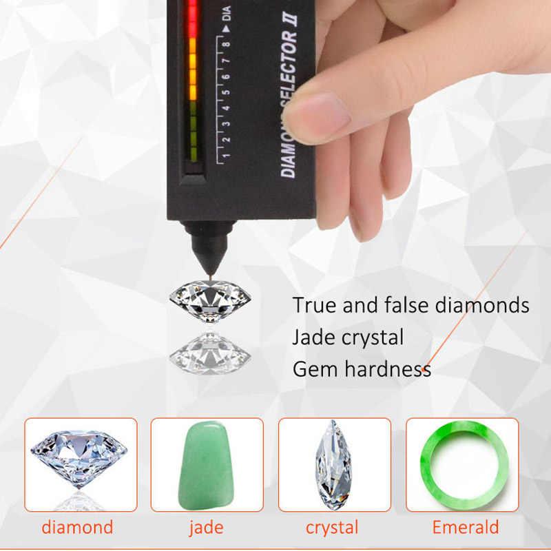 Herramienta de prueba de joyería con Detector de piedras preciosas Selector de diamantes de precisión Digital 2019