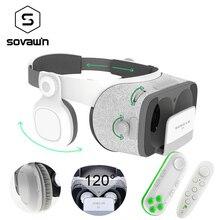 Bobovr Z4 обновление Bobo VR Z5 120 FOV 3D картонный шлем очки виртуальной реальности стерео гарнитура коробка для 4.7- 6.2 'мобильный телефон