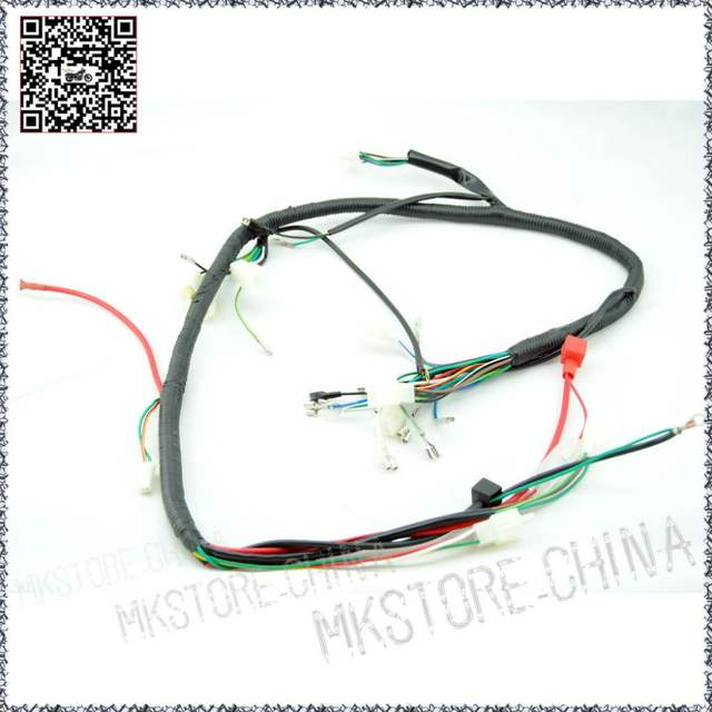 online shop quad wiring harness 200 250cc chinese electric start  placeholder quad wiring harness 200 250cc chinese electric start loncin zongshen ducar lifan free shipping