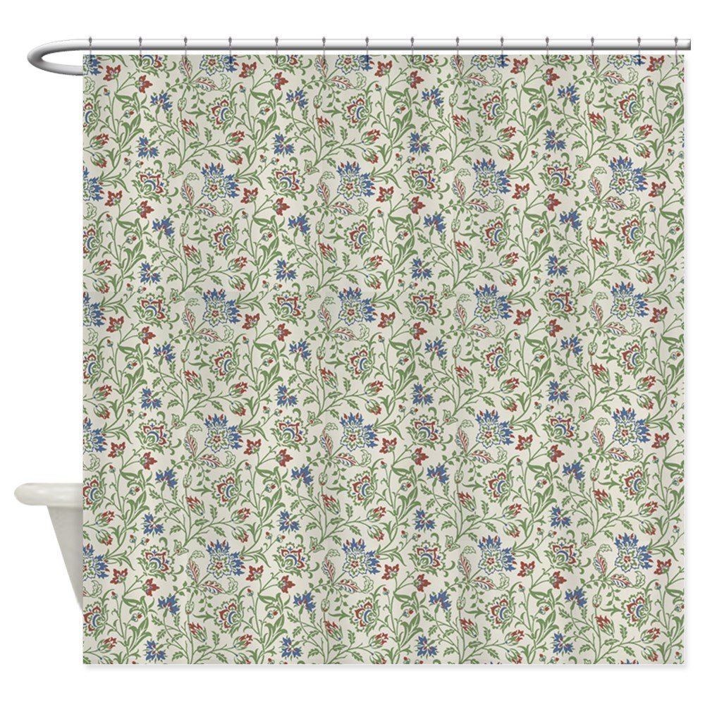 Morris Brentwood - Decorative Fabric Shower Curtain (69x70)