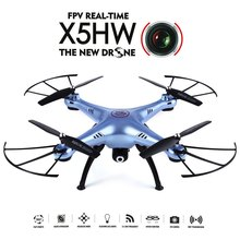 High Quality Racing Quadcopter Syma X5HW WiFi FPV HD 0.3MP CAM 2.4GHz 4CH 6 Axis Gyro Quadcopter RTF Night Flight Mini Drone Toy mini 250 quadcopter accessories portable protective carrying bag waterproof nylon for diy rtf 250 size racing drone f18682