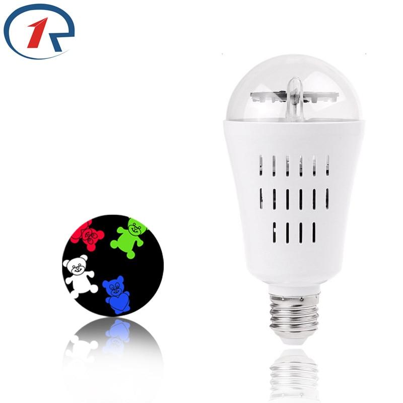 58a1332c4 ZjRight LED RGBW الكرة لمبة ضوء الملونة الدورية E27 هالوين حزب ديكور عيد  الميلاد 7 أنواع من الاداءات الصمام الإضاءة المرحلة