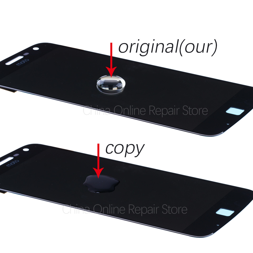 Original AMOLED Display For Motorola Moto Z Play LCD Display Touch Screen 5.5 inch Display For MOTO Z Play Droid XT1635 LCD