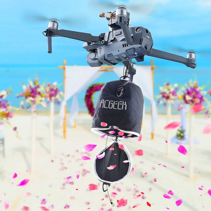 Drone Thrower Flying Bag Quick Release Air Dropping Release Bag Shinkichon Parabolic Bag For DJI Mavic Pro/Mavic 2/Phantom