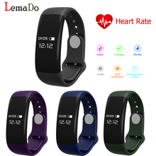 Lemado H30 Умный Браслет Bluetooth Smartband Heart Rate Monitor Шагомер Браслет Трекер Фитнес-Часы для Android и IOS