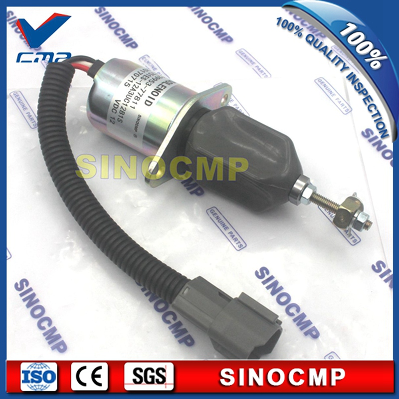 12V fuel stop solenoid switch 1751ES-12A3UC12B1S, shut down, flameout solenoid 129953-7781112V fuel stop solenoid switch 1751ES-12A3UC12B1S, shut down, flameout solenoid 129953-77811