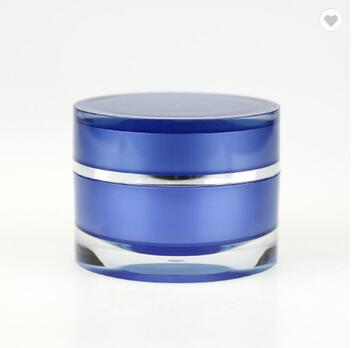 Most Popular High Quality Small Acrylic Cosmetics Cream Empty Jar,plastic Cream Jar