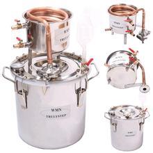10L ~ 100 литров Новый DIY дома дистиллятор Alambic самогон алкоголь еще нержавеющей медь воды важное Вино Масло пивоварения комплект