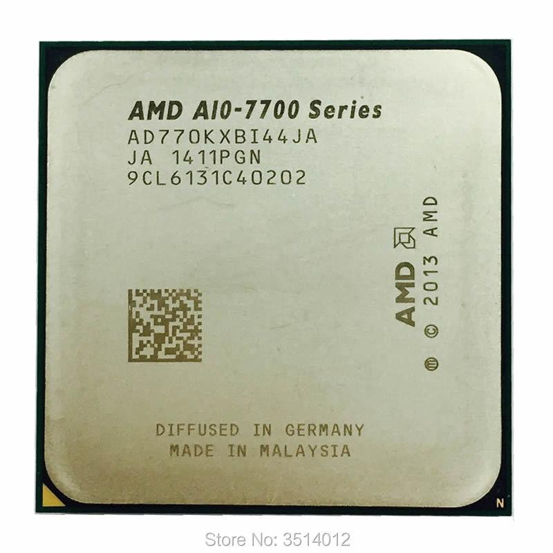 Amd A10-series A10 7700 A10 7700 Karat 3,4 Ghz Quad-core Cpu Prozessor Ad770kxbi44ja Sockel Fm2 +